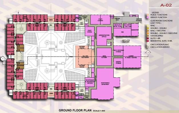 Figure 18 Ground Floor Plan