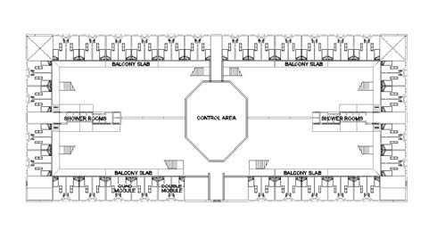Figure 2 Prison Housing Facility Configuration