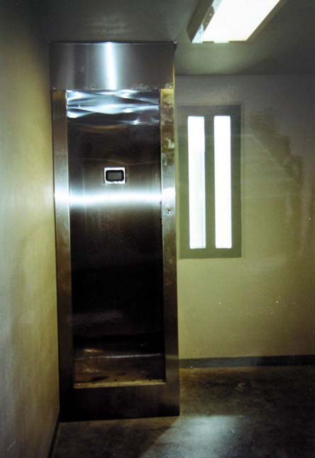 Figure 5 Shower Unit in the Maximum-Security Cell